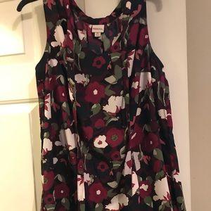 Sleeveless Merona blouse
